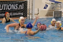 20171007 Waterpolo Den Haag - PSV dames FvL 00-web