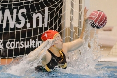 20171007 Waterpolo Den Haag - PSV dames FvL 01-web