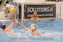 20171021 Waterpolo Den Haag - De Zijl Zwemsport heren FvL12-web