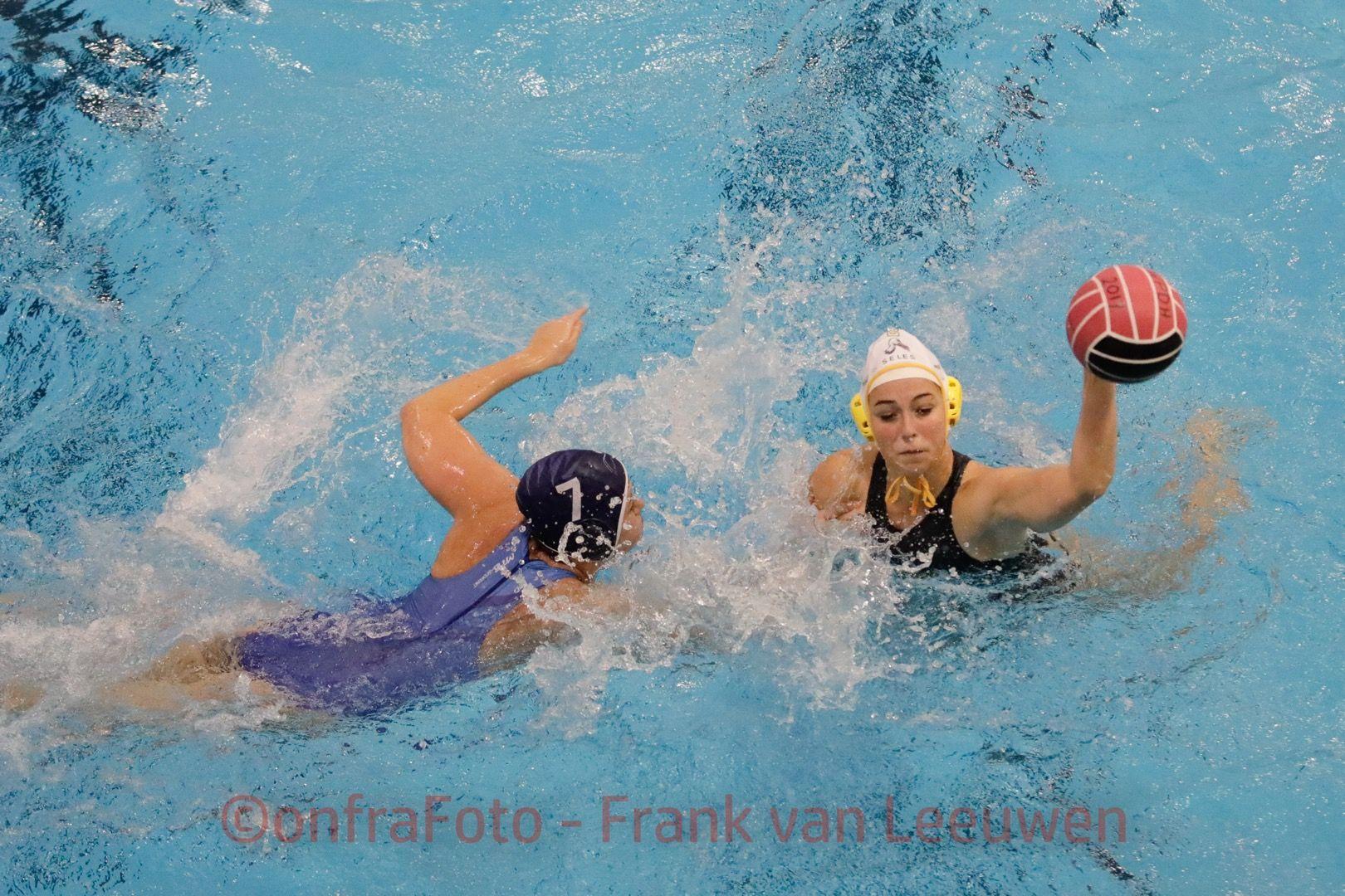 20171104 Waterpolo Den Haag - ZV Haerlem dames FvL15-web