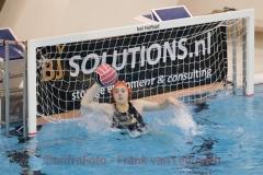 20180203 Waterpolo Den Haag - ZPC De Gouwe dames 1 FvL 11-web