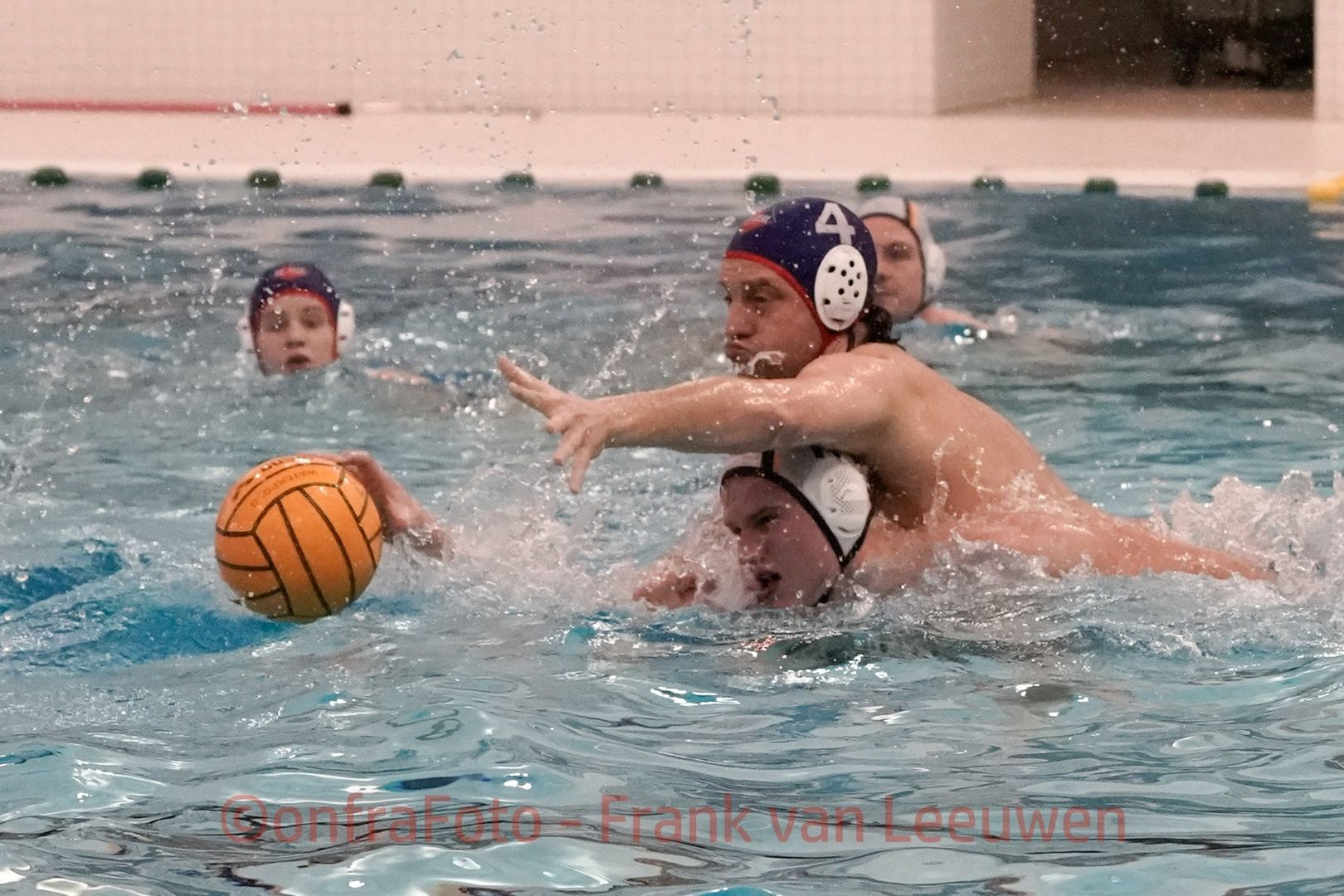 20180310 Waterpolo Den Haag 2 - De Zijl Zwemsport 3 heren FvL 7-web