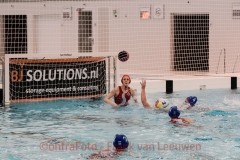 20180310 Waterpolo Den Haag - PSV dames FvL 10-web