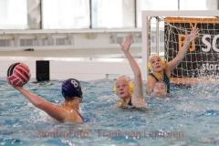 20180324 Waterpolo Den Haag - ZV Haerlem dames FvL 04-web