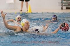 20180324 Waterpolo Den Haag - ZV Haerlem dames FvL 11-web