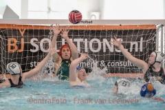 20180414 Waterpolo Den Haag 2 - De Vliet 1 dames FvL 08-web