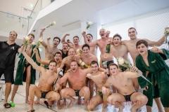 20180414 Waterpolo Den Haag Heren 3 kampioen 2017-2018 2de klasse Regio West FvL 01-web