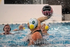 20190119 Waterpolo Den Haag v OZ&PC Oldenzaal - Sportshoots.nl FvL-10