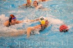 20190119 Waterpolo Den Haag v OZ&PC Oldenzaal - Sportshoots.nl FvL-5