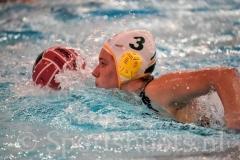 20190119 Waterpolo Den Haag v OZ&PC Oldenzaal - Sportshoots.nl FvL-8