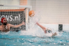 20190323 Waterpolo Den Haag 3 - De Plas 1 heren 8-7