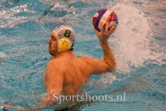 20200118 Waterpolo den Haag - VZC Veenendaal ManMeercup Kwartfinale
