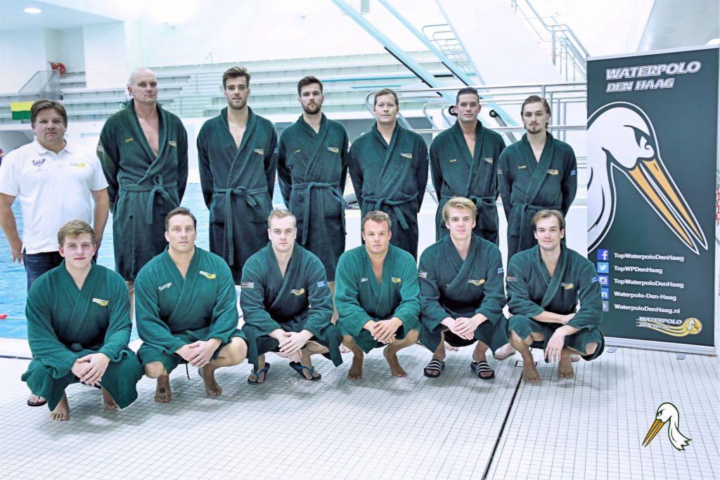 Teamfoto Heren 1 Waterpolo Den Haag