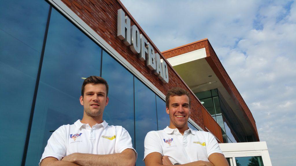 Daan Heiden en Coen Berendse dit seizoen bij Waterpolo Den Haag