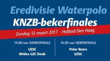 Kaartverkoop bekerfinales Eredivisie Waterpolo gestart